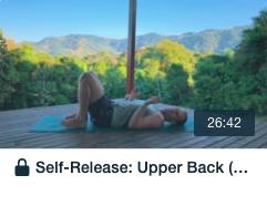 upper back release tile